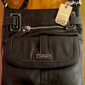 The Black Rustic Leather Bag